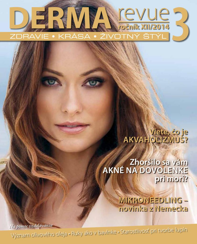 Časopis DERMA revue č. 2014/3