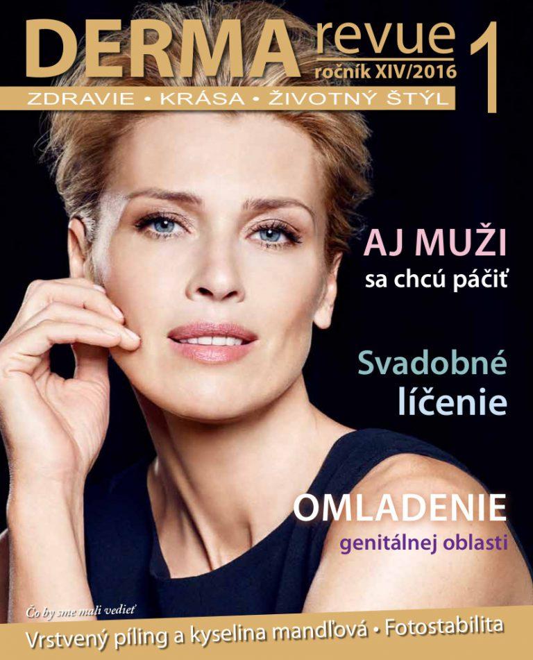titulka_DermaRevue_2016-1