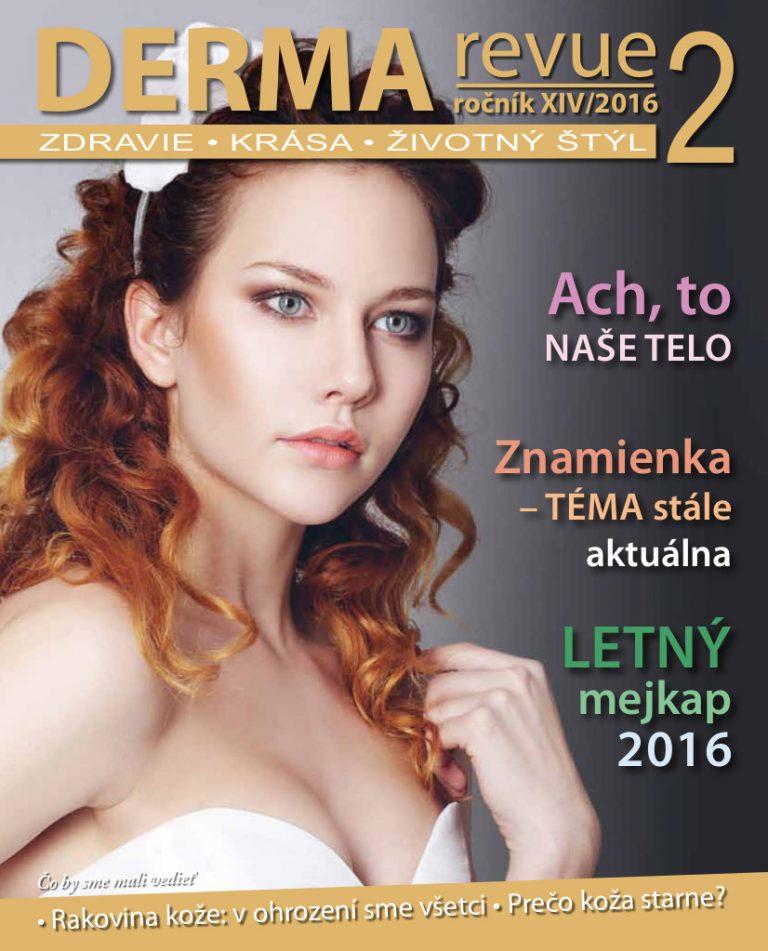 titulka_DermaRevue_2016-2