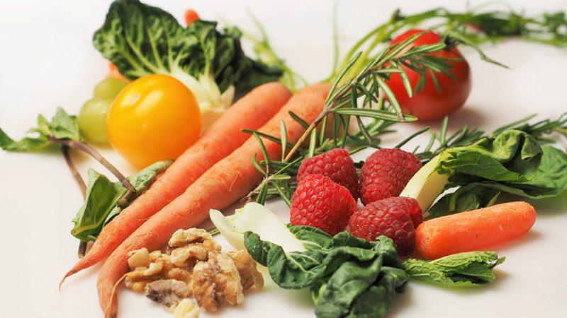 Ovocie a zelenina pri ochrane a podpore zdravia