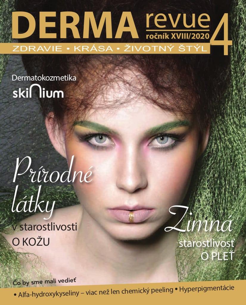 Časopis Derma Revue č. 2020/4