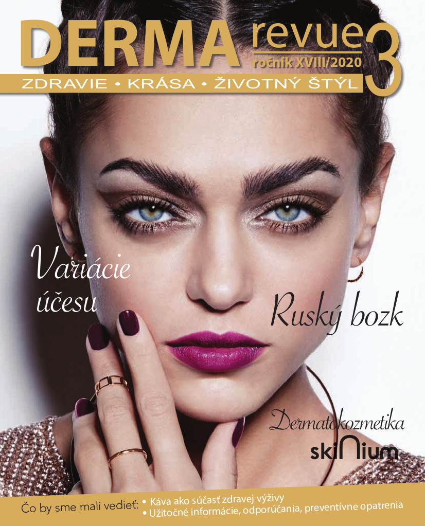 Časopis Derma Revue č. 2020/3
